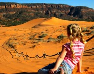 Coral Pink Sand Dunes - Little Girl-Tyler Cornell-300 - KCOT