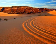 Coral Pink Sand Dunes - Four Wheeler Tracks-Tyler Cornell - KCOT